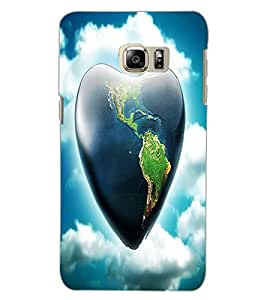 SAMSUNG GALAXY NOTE 5 EDGE HEART Back Cover by PRINTSWAG