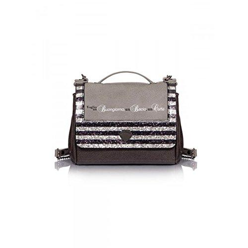 Borsa Bauletto | Le Pandorine Mini Bag | Caffè | A/I 2016-17 | AI16DAC01932-Glitter Grey