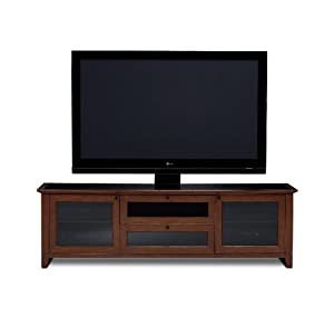 BDI Novia 8429-2, Triple Wide Enclosed Cabinet ( Cocoa Stained Cherry)