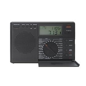Grundig Traveler II Digital G8 AM/FM/LW/Shortwave Radio with Auto Tuning Storage