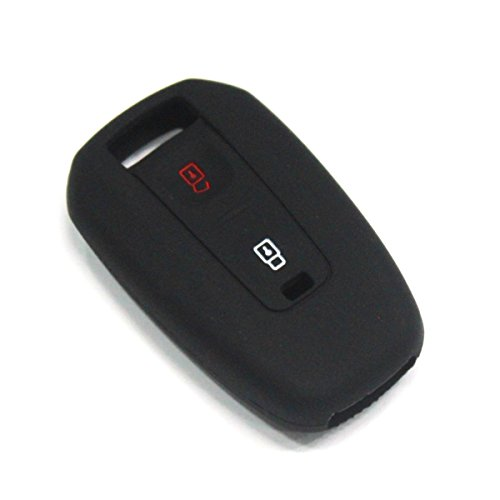 Keyzone Silicone Key Cover For Tata Indica Vista / Manza 2 Button Remote Key