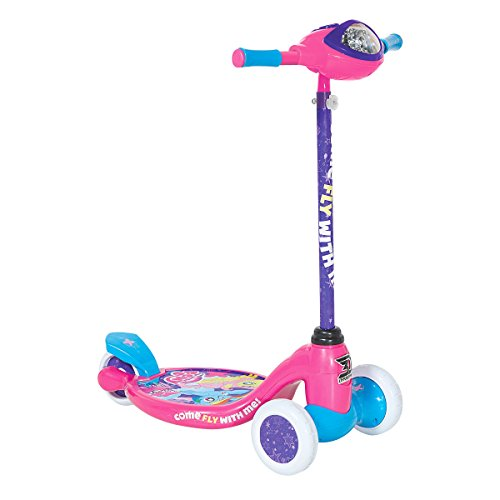 My Little Pony Item# 8004-28CY Dynacraft 3-Wheel Scooter, Pink/Blue/White, 5