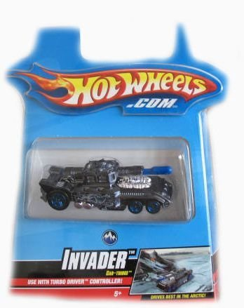 Buy Low Price Mattel Hotwheels Turbo Driver Invader Car-Tridge Figure (B001DQA096)