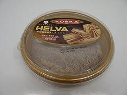 Koska Halva with Cacao - 14.11 oz(400gr) Kakaolu Tahin Helvasi,Turkish