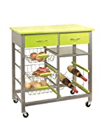 KITCHEN FURNITURE & DECO HOME Carrito Verde