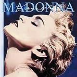 Madonna True Blue steel fridge magnet (cv)
