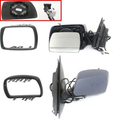 07 Edge Power Non-Heat w//o Puddle Lamp Black Folding Mirror Right Passenger Side