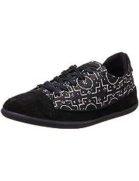 Desigual Women's Happy 29 Black Sneakers