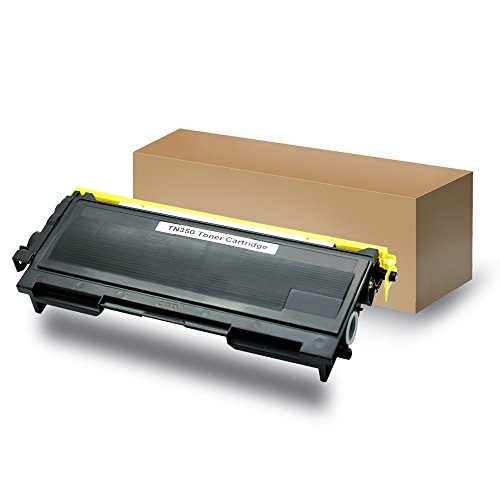 Compatible with Brother TN350 Compatible Toner Cartridge for use with Brother HL-2040, HL-2070N, FAX-2820, FAX-2920, MFC-7220, MFC-7225n, MFC-7420, MFC-7820n, DCP-7020 Printers - Black (Brother Intellifax 2820 Toner compare prices)