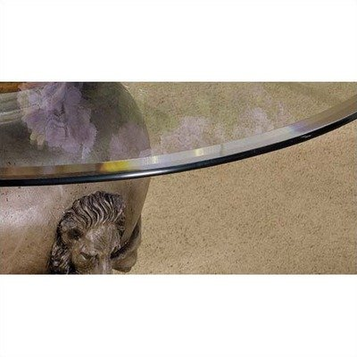 Cheap 45″ – 54″ Round Glass Table Top with Beveled or Wave Edge (GC3)