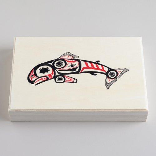 Alaska Smokehouse Natural Smoked Salmon 8oz. (Pack of 12)