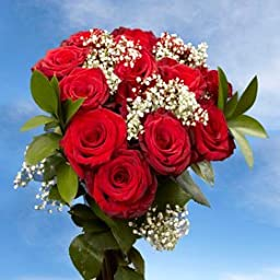 3 Dozen Fresh Cut Red Roses for Mothers Day Long Stem | Fresh Flowers Express Delivery | Perfect Mother\'s Day Gift