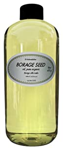 Borage Seed Oil Pure Organic 20% GLA Cold Pressed Virgin 48 Oz/3 Pints