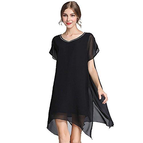 foru-da-donna-a-plus-size-sexy-scollo-a-v-prospettiva-vestito-chiffon-l-5-x-l-black-xxxxx-large