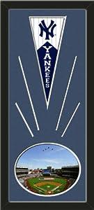 New York Yankees Wool Felt Mini Pennant & Yankee Stadium 2009 Inaugural Game... by Art and More, Davenport, IA