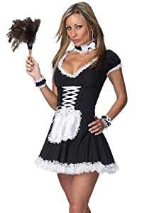 Chamber Maid Sexy Adult Costume - Sissy Maid Costume
