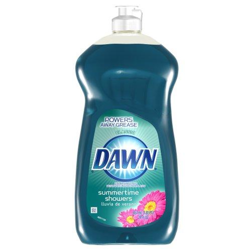 Dishwashing Dawn Non Ultra Dishwashing Liquid Summertime