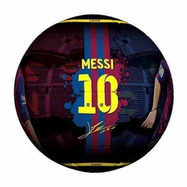 Official Lionel Messi & FC Barcelona Soccer Ball Size 5
