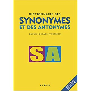 dictionnaire francais synonymes antonymes. Black Bedroom Furniture Sets. Home Design Ideas