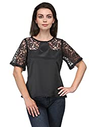Bumpkin bell sleeves party lace yoke top