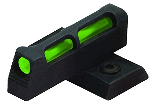 HIVIZ SR22 Interchangeable Front Handgun Sight for Ruger SR22 with Adjustable Rear Sight