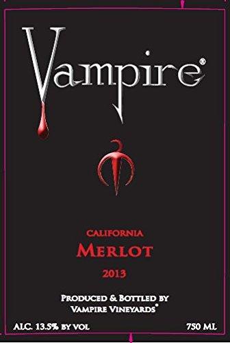 2013 Vampire Merlot 750 Ml