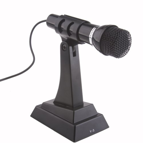 Neewer Noise Canceling Stand Alone Microphone For Pc Computer Laptop Notebook Voip Skype Internet Voice Chat With 3.5Mm Audio Plug
