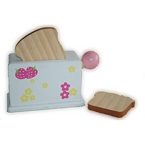 Holztablett Frühstück Kinderküche Holz Kaffee Kuchen Holzspielzeug