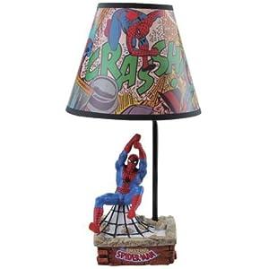 Spiderman light shade argos