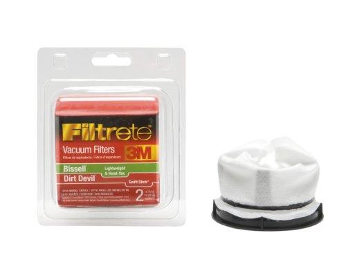 3M Filtrete Bissell Lightweight / Dirt Devil Swift Stick Allergen Vacuum Filter, 1 Pack (3m Service Vacuum Cleaner compare prices)