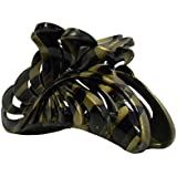5 inch Large Jaw Clip Hair Claw with leaf design (Motique Accessories)