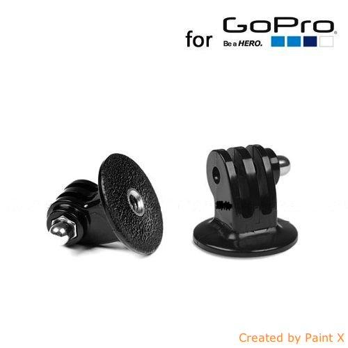 GoPro Adaptateur pour Trépied - Perche Téléscopique - Ventouse pour GoPro 3+/3/2/1