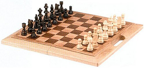 CHH Imports 16 Inch Oak Folding Chess Set - Buy CHH Imports 16 Inch Oak Folding Chess Set - Purchase CHH Imports 16 Inch Oak Folding Chess Set (CHH, Toys & Games,Categories,Games,Board Games,Checkers Chess & Backgammon)