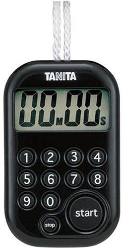 Tanita minuterie num?rique 100 minutes noir total TD-379-BK (japon importation)