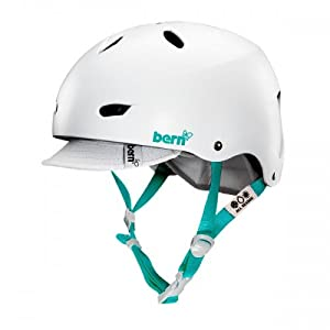 BERN Brighton Summer EPS Helmet with Visor by Bern Unlimited