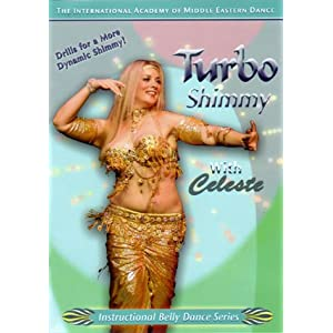 Turbo Shimmy with Celeste: Instruction Belly Dance Series
