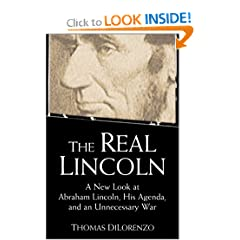 The Real Lincoln book cover