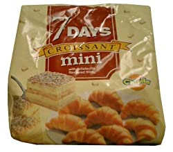 Croissants Mini with Cream Filling, 200g(.4lb)