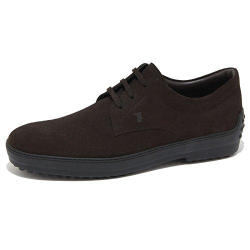 6932N scarpa TOD'S DERBY brown scarpe uomo shoes men [5.5]