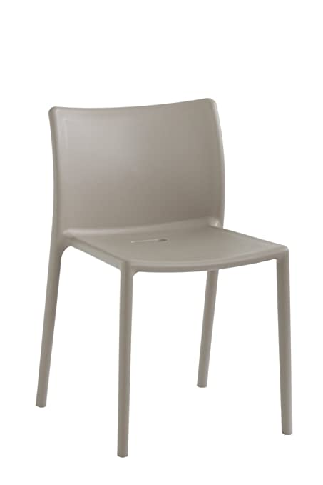 Magis Air Chair, Plastic, 4-Piece - Beige