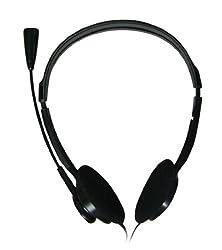 Zebronics ZEB-11HM Headphone with Mic (Black)