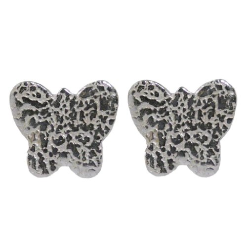 Handmade 925 Sterling Silver Butterfly Studs Earrings - FREE Delivery in UK Gift Wrapped Gifts