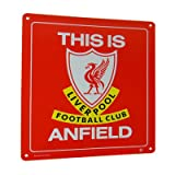 Liverpool FC. This is Anfield Metal Sign