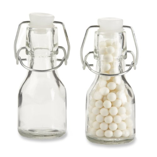 Mini Glass Favor Bottle with Swing Top