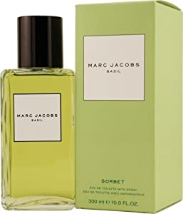 Marc Jacobs Basil by Marc Jacobs for Women. Sorbet Eau De Toilette Spray 10-Ounces