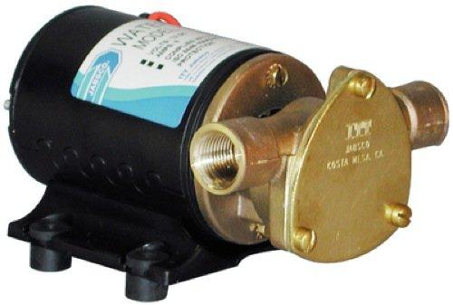 Itt Jabsco 186600123 Water Puppy, 12 Vdc, Nitrile Water Puppy Shower Drain Pump