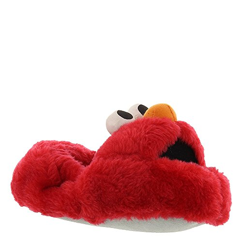 Stride Rite Boy'S New Low Profile Elmo Slipper, Red, 5/6 front-801220