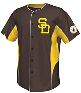 Tony Gwynn San Diego Padres Majestic MLB Cooperstown Leader Jersey by Majestic