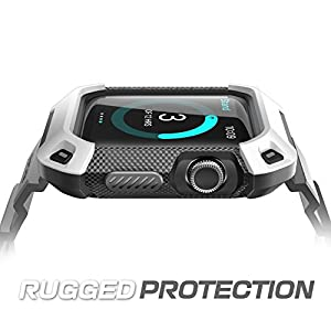 Apple Watch Case, SUPCASE [Unicorn Beetle Pro] Rugged Protective Case with Strap Bands for Apple Watch / Watch Sport / Watch Edition 2015 [42mm Not Compatible with 38 mm]