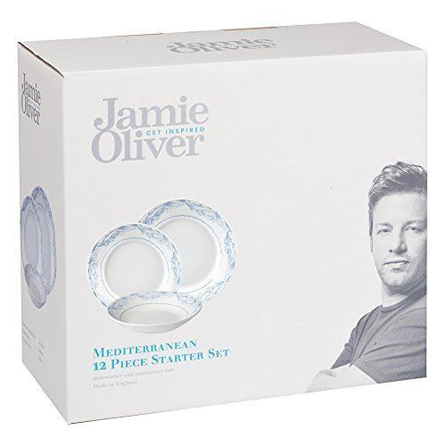 Buy Jamie Oliver 12-Piece Earthenware Mediterranean Dinnerware Set Set of Multi-Colour  sc 1 st  Google Sites & Deals For Jamie Oliver 12-Piece Earthenware Mediterranean ...